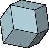 菱形12面体