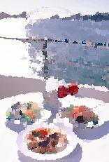 ラスター - 油絵