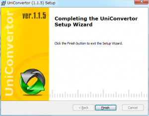 UniConvertorインストール (7)