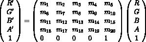 color-matrix-formula
