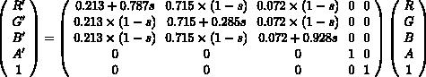 color-matrix-saturation-formula